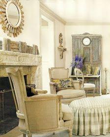 """Isabelle Thornton"" Le Chateau des Fleurs: Gorgeous French Country Home decor Looks"
