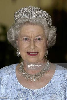 Queen Elizabeth ll attends a State Banquet at Brdo Castle on the first day of a State Visit to Slovenia on Octo