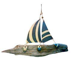 Jan Guest coastal art - large double sail
