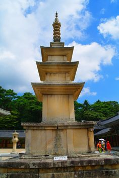 석굴암, 불국사[Seokguram Grotto and Bulguksa Temple] - 석가탑 / South Korea Gyeongju, Korean Wave, Architecture Old, North Korea, Fountain, Buddha, Tower, Waves, Traditional