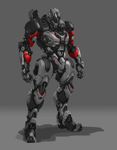 ArtStation - Mech Drawing, Aaron Deleon