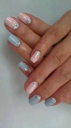 Summer 2014 Nail Trends:Nudes Neons N Pastels