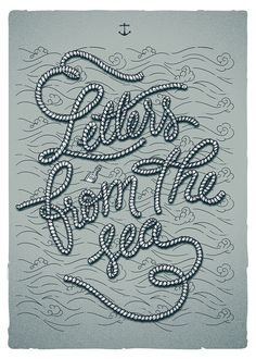Letters from the sea on Behance
