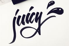 Ohiamy will handletter your name or short phrase in this watercolor style for $5 on fiverr.com