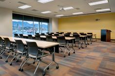 #iSpyKI at the University of Colorado at Colorado Springs! That's KI's HurryUp tables and Strive nesting seating! #classroom #education #furniture