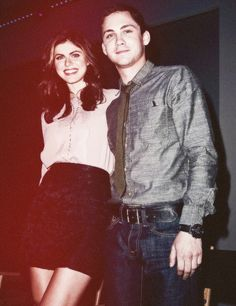 The best source of information about actors Alexandra Daddario and Logan Lerman. New photos and news...