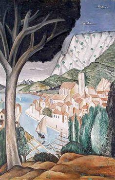 Le port de Martigues par André Derain