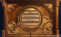 http://oyunpark.co/2015/06/15/hearthstoneun-twitter-hesabindan-paylasilan-yeni-seenek-gizemini-hala-koruyor/  Warcraft serisinin devami olarak Unity oyun motoru üzerinde gelistirilen ve 11 Mart 2014 tarihinde PC oyunculariyla, ardindan da mobil platform oyunculariyla bulusturulan Blizzard'in toplanabilir kart oyunu Hearthstone resmi Twitter hesabindan paylasilan küçük bir GIF animasyonu bütün oyunculari merak içinde birakmis bulunuyor  Play, Solo Adventures ve The Ar