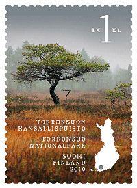 Torronsuon kansallispuisto. Postimerkki 2010