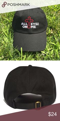 dda958bc10a All eyez on me dad hat Brand new item . Embroidered sixpanelstudio.com  Accessories Hats