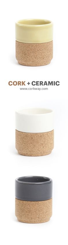 Cork Tea Pot Collection | www.corkway.com #cork #tea #pot #cup #ceramic