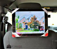 Headrest iPad Holder DIY