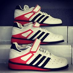 Adidas Power Perfect II Weightlifting Shoes. We've now got all sizes back in stock for 80. Get yours now from Rigs Fitness  #Weightlifting #Birmingham #Moseley #Edgbaston #Solihull #BritishWeightlifting #BWL #adidas #adidasweightlifting #powerperfect #Sports #training #crossfit #trainlikeanathlete #olympiclifting #instafit #gym #gymtime #fitfam #girlswholift #adidasshoes #weightliftingshoes #uk #getinvolved #lifters #brumlife #brumgyms