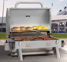 Barbecue Gas Grill Portable Outdoor Cooking Camping Backyard Stainless Steel New #SmokeHollow