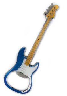 It's a guitar bottle opener! How cool!   http://store.drumbum.com/skuMGMSC-700.html