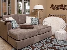 I just finished watching the video on this site. My next couch purchase will definitely be a Sactional. You can create any look, for any space, any time..LOVE this concept!!