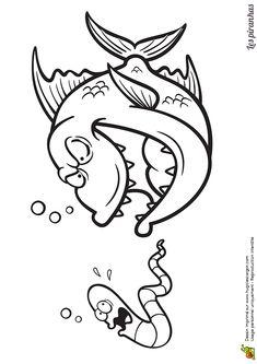 Fish Cartoon Drawing, Cartoon Fish, Fish Drawings, Cartoon Drawings, Art Drawings, Airbrush Designs, Bird Houses Painted, Mini Paintings, Fish Art