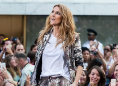 Celine Dion Performs On NBC's 'Today'