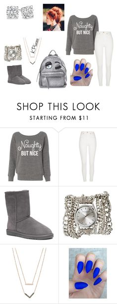 """Untitled #331"" by xkprincess on Polyvore featuring River Island, UGG Australia, Sara Designs, Michael Kors and Chiara Ferragni"