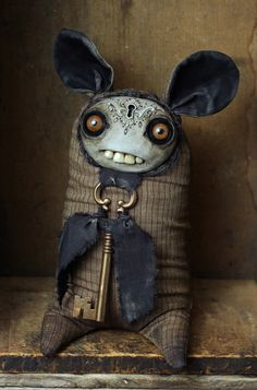 Unseen Forces - Senior Warden of the Dark Ugly Dolls, Creepy Dolls, Cute Dolls, Zombie Dolls, Voodoo Dolls, Clay Monsters, Little Monsters, Cute Creatures, Fantasy Creatures