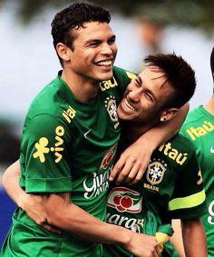 ⚽️Thiago Silva and Neymar⚽️