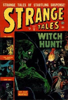 A cover gallery for the comic book Strange Tales Comic Book Covers, Comic Books, Comic Art, Marvel Heroes, Marvel Comics, Marvel Masterworks, Jim Steranko, Real Witches, Tales From The Crypt