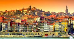 The centre of Porto, which retains many of its original 18th century buildings, has been classified as a world heritage site by Unesco