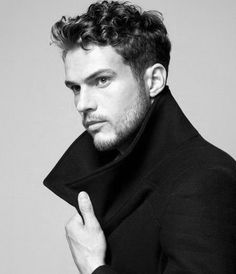 Dapper Short Curly Hairstyles Mens