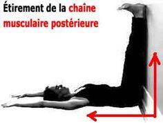 étirement couché de la chaine musculaire posterieure contre le mal de dos