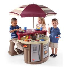 Carsens Christmas gift. Step2 Grill and Play Patio Cafe