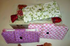 Creando desde mi desván: Tutorial cartera monedero Wallet Pattern, Decorative Boxes, Gift Wrapping, Sewing, Gifts, Larger, Wallets, Fabric Wallet, Things To Doodle
