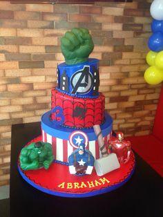 Avenger cake …