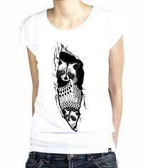 Koszulka Damska Szop  - Malinowe Cacko