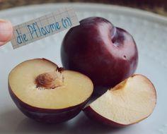 die Pflaume - plum