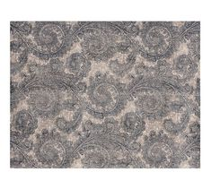 Ravati Paisley Printed Rug - Blue   Pottery Barn. I LIKE THIS BEST FOR YOU* :)