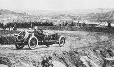 Dario Resta at 1914 French GP | First Super Speedway