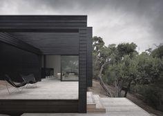 Rural house outside