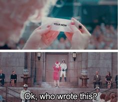 Effie Trinket...