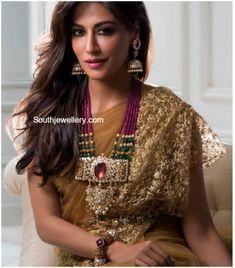 Ruby Haram with Diamond Pendant photo