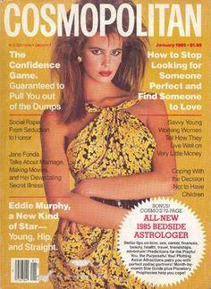 Cosmopolitan magazine, JANUARY 1985 Model: Elle Macpherson Photographer: Francesco Scavullo