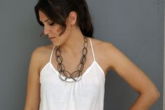 Emma necklace - stunning and simple