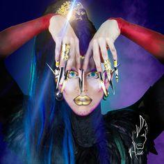 Acid Betty :: Nails by UnicornsPoopGlitter.com