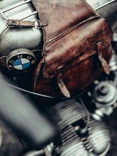 Bmw classic and leather bag