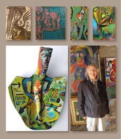 Ugo Mainetti was born in 1945 as son of farmers in VeltIn, Italy and is living in Tirano. He learn the profession of a butcher and had his own butchery in Tirana for over 20 years. Since the age of 12 , he painted, as a self-taught artist and for years, exhibited his paintings, all painted at night time and inspired by his dreams, in his butchery until the day he closed down and since concentrated entirely to his painting.