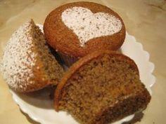 Kávés muffin - Katharosz konyhája - ételek és sütemények képekkel Muffins, Czech Recipes, Scones, Banana Bread, Orange, Food And Drink, Sweets, Cookies, Baking