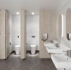 Public Restroom Floor Plans Inspirational Cleanflush Caroma Specify … Washroom Design, Modern Bathroom Design, Bathroom Interior Design, Bath Design, Modern Toilet Design, Tile Design, Interior Decorating, Toilette Design, Office Bathroom