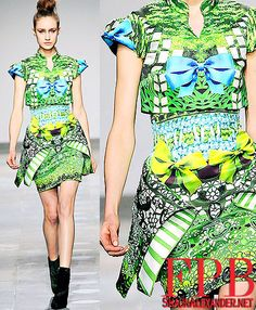 Mary Katrantzou London Fashion Week 2013