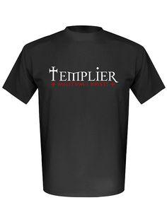 T-shirt « Templier + Militum Xpisti + » noir ► http://www.histophile.com/t-shirt-templier-militum-xpisti-tshmc185n07.html