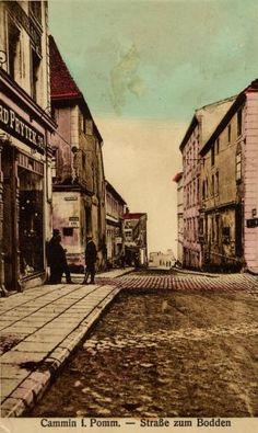 Cammin, Straße zum Bodden, Museum in Kamien Pomorski My Town, Vintage Ideas, Genealogy, Historia, Art, Family History
