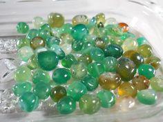 5x5x3mm Natural Tourmaline Nugget Beads (68) - Craft Beads - Free Shipping $5.95